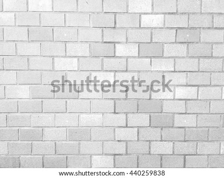 white gray color surface brick block wall background pattern:grungy stone row wallpaper:beige grey brickwork rock backdrop texture.vintage concrete backdrop material construction architectural concept - stock photo