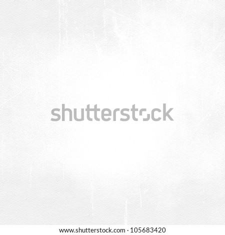 White grunge wall texture - stock photo
