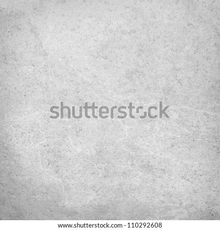 white grunge wall texture, old plastered wall background - stock photo