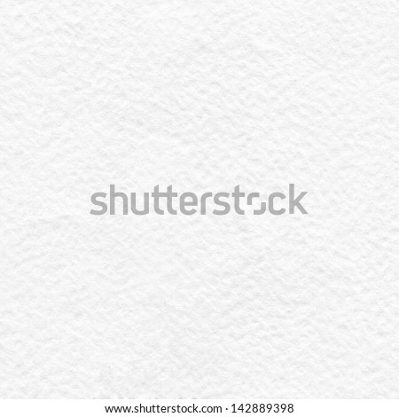 White handmade paper background texture - stock photo