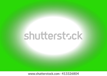 white hole with green frame