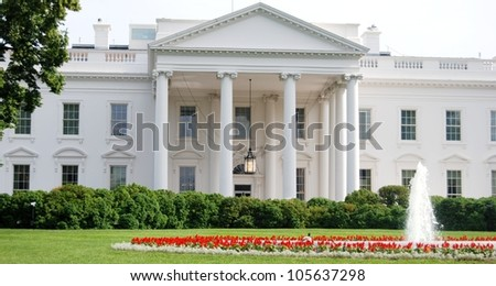 White House in Washington DC, USA