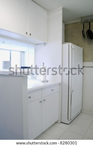 White Kitchen - stock photo