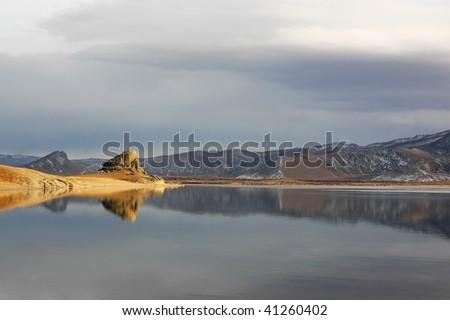 White Lake - stock photo
