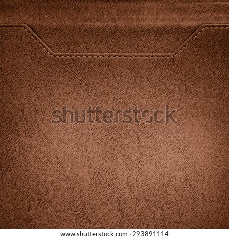 White leather background or texture - stock photo
