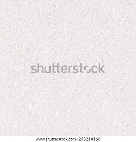White leather background or texture. Seamless closeup texture / close-up  - stock photo