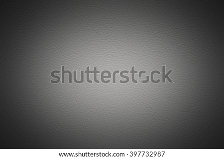 White leather background with shade