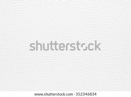 White leather texture background - stock photo