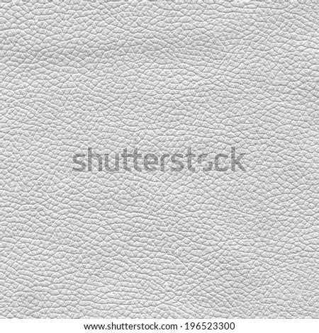 white leather texture closeup  - stock photo