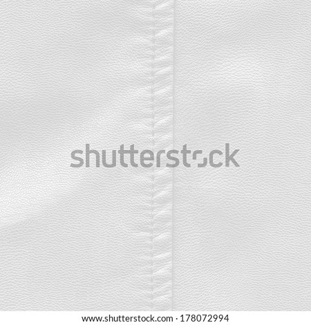 white leather texture, stitch