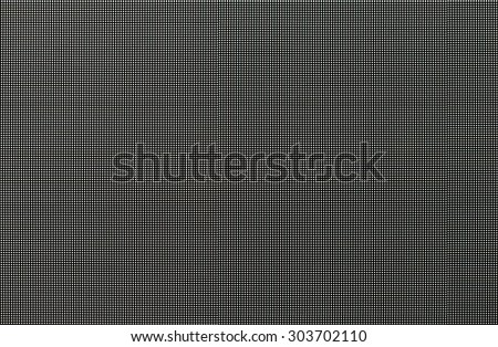 White light dot of the led screen in advertising display. - stock photo