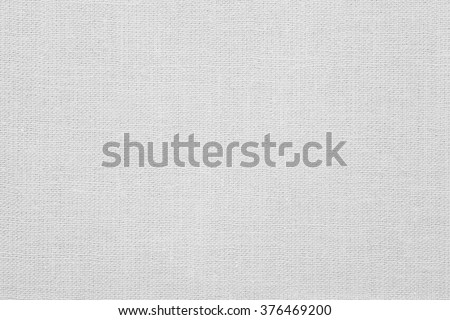white linen background or woven canvas texture - stock photo