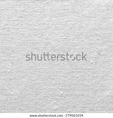 white linen texture for the background - stock photo