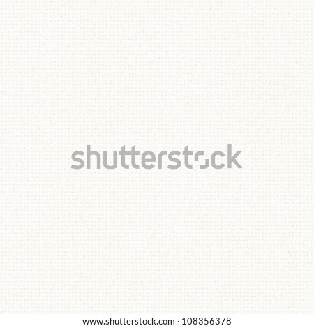 white linen texture with delicate grid pattern seamless background - stock photo