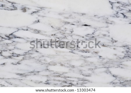 White marble close-up - stock photo