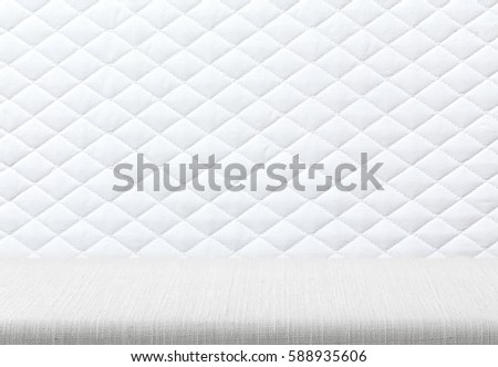 mattress pattern. White Mattress Bedding Pattern Background. Picture Design For Add Product Show Case Stand Display. C