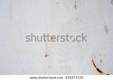 White metal texture - stock photo