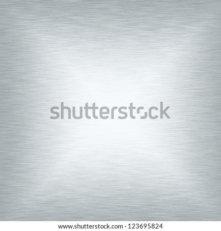 white metal  texture smooth plate abstract chrome background - stock photo