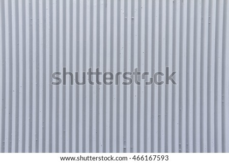 metal wall texture. White Metal Wall With Vertical Stripes Background Or Texture
