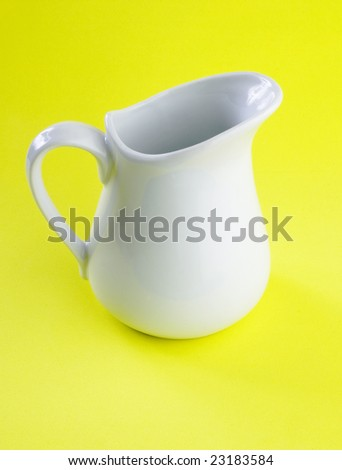 white milk churn - stock photo