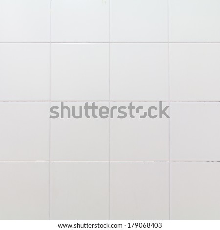White modern wall ceramic background, Texture background.