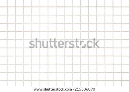 white mosaic wall background  - stock photo