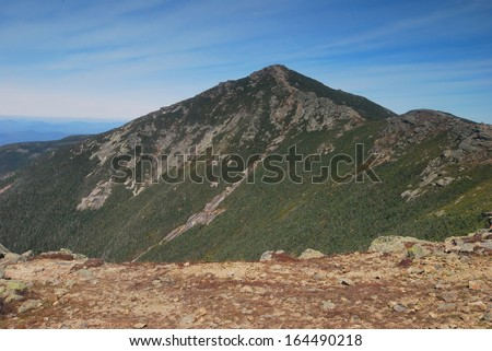 White Mountains in New Hampshire - stock photo