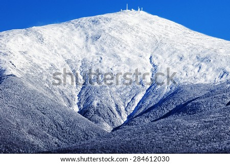 White Mountains National Forest, New Hampshire - stock photo