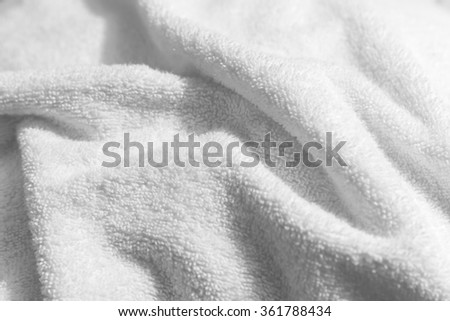 White Natural Cotton Towel Background Closeup Stock Photo ... on organic cotton towels, white tea towels, eco cotton towels, whitecotton dish towels, disposable cotton towels, white hand towels, peri cotton towels, high quality cotton towels, 100% cotton towels, white face towels, white linen towels, black towels, silver towels, white monogrammed towels, white towel sets, white hotel towel, white terry towel, white beach towels, egyptian cotton towels, white bath towels,