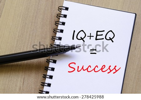 White notepad and ink pen on the wooden desk Success Concept  - stock photo
