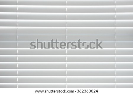 white office curtain