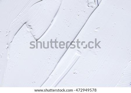 White oil paint background