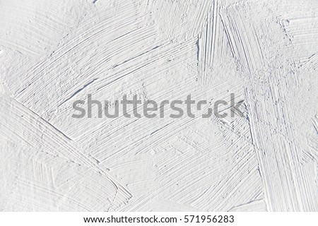 White Oil Painting Brush Strokes Texture Stock Photo Royalty Free