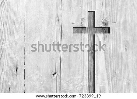 White Old Christian Religion Symbol Cross Stock Photo Safe To Use