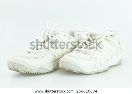 White old shoe