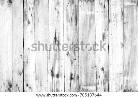 White old wood flooring from natural trees.