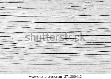 White old wood pattern texture background. Gray wooden floor of tabletop,wood board sepia tones. Desk made of wood and natural textures. Texture old dry wood cracks. Old floor wood.