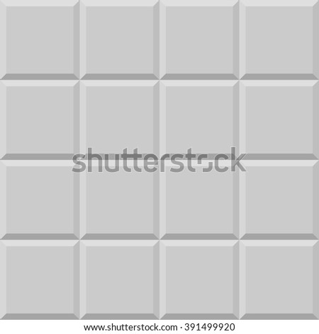 White or gray tiles texture, seamless. Tile background or pattern
