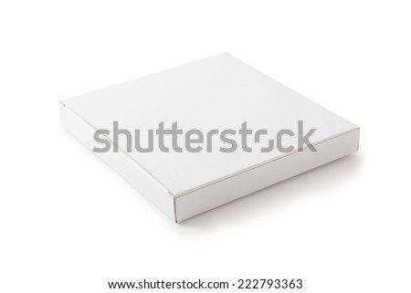 White Package Box , Isolated on white