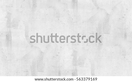 White Painted Cement Wall Texture Background Seamless
