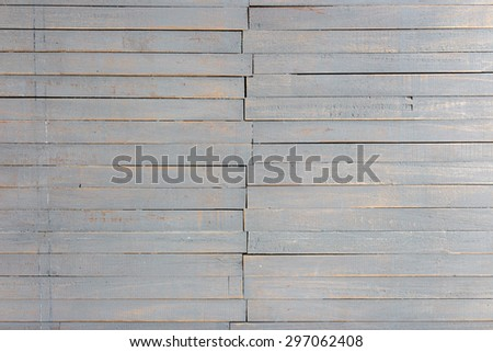 White painted old wooden background