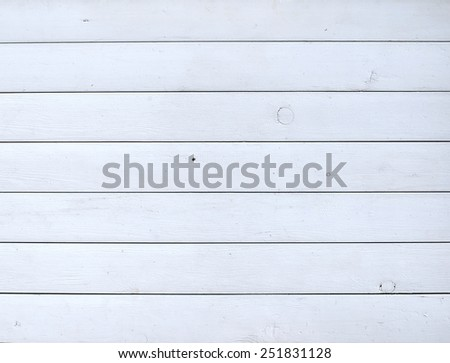White painted rustic wooden background or texture - stock photo