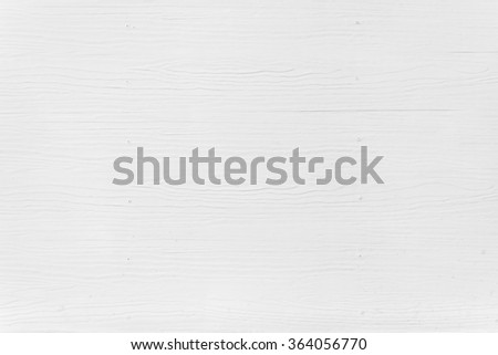 White painted wood plank background - stock photo
