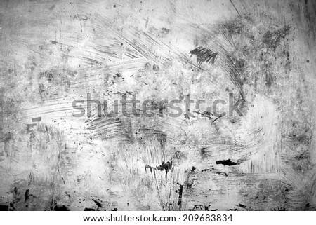white painting grunge background - stock photo