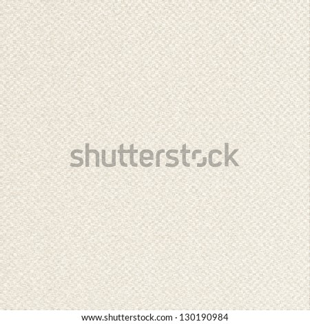 white paper background canvas texture beige blocks seamless pattern - stock photo