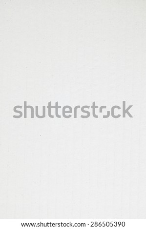 White paper background, texture - stock photo