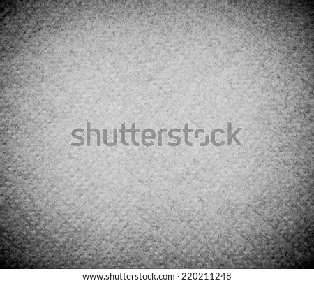 White paper background texture with vignette - stock photo