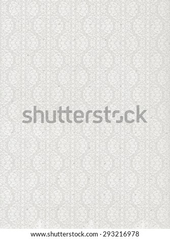 White paper background with pattern - stock photo