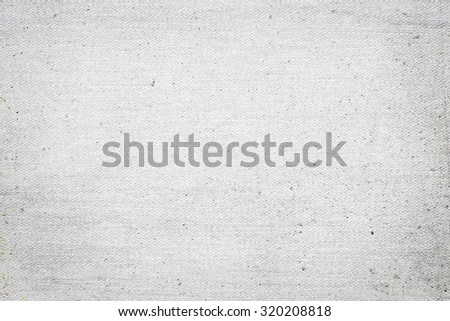white paper canvas texture background with vignette - stock photo