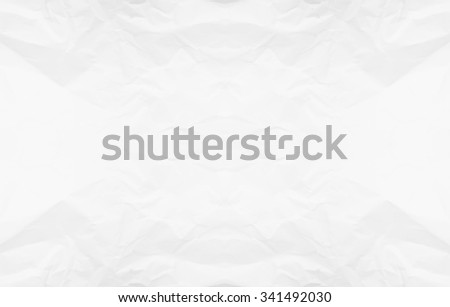 White paper texture background. Abstract white crumpled paper for backgrounds : crease of white paper textures backgrounds for design,decorative. paper textures concept. - stock photo